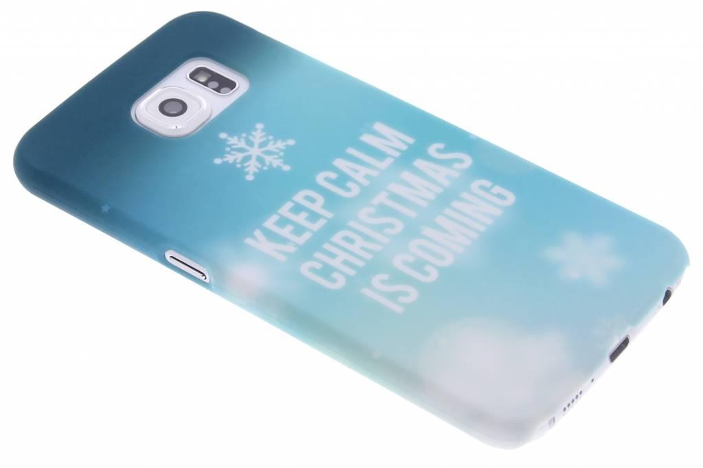 Keep Calm Christmas design hardcase hoesje voor de Samsung Galaxy S6