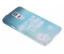 Keep Calm Christmas hardcase Galaxy S5 (Plus) / Neo