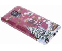 Christmas Edition TPU hoesje Samsung Galaxy Note 4