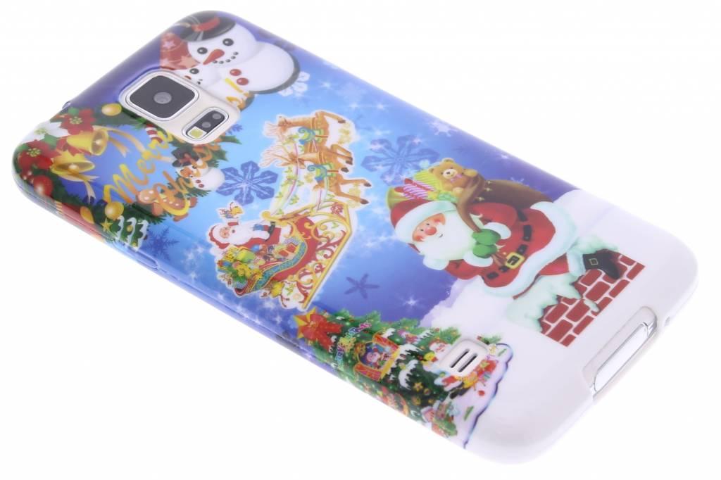 Christmas Edition TPU siliconen hoesje voor de Samsung Galaxy S5 (Plus) / Neo