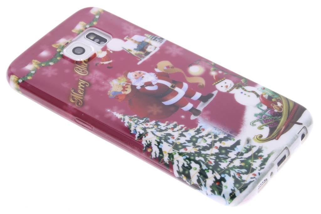 Christmas Edition TPU siliconen hoesje voor de Samsung Galaxy S6
