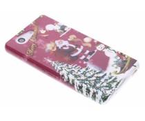 Christmas Edition TPU hoesje Sony Xperia Z3 Compact