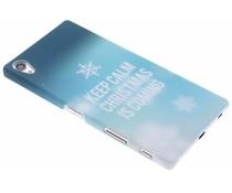 Keep Calm Christmas hardcase Sony Xperia Z5 Premium
