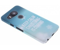 Keep Calm Christmas design hardcase LG Nexus 5X