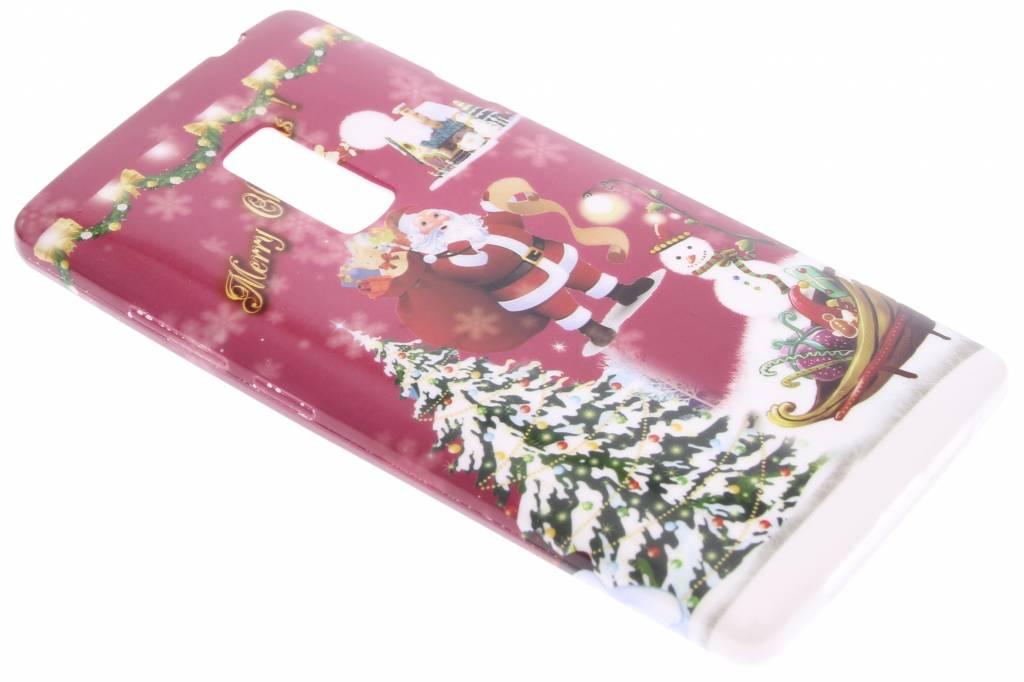 Christmas Edition TPU siliconen hoesje voor de OnePlus 2