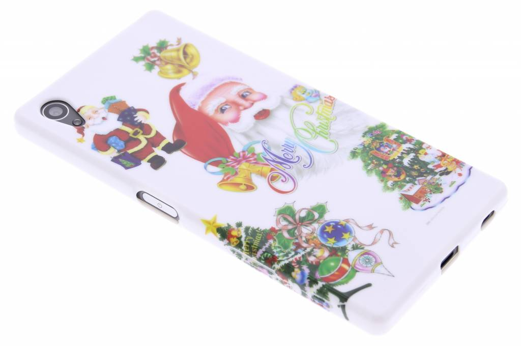 Christmas Edition TPU siliconen hoesje voor de Sony Xperia Z5