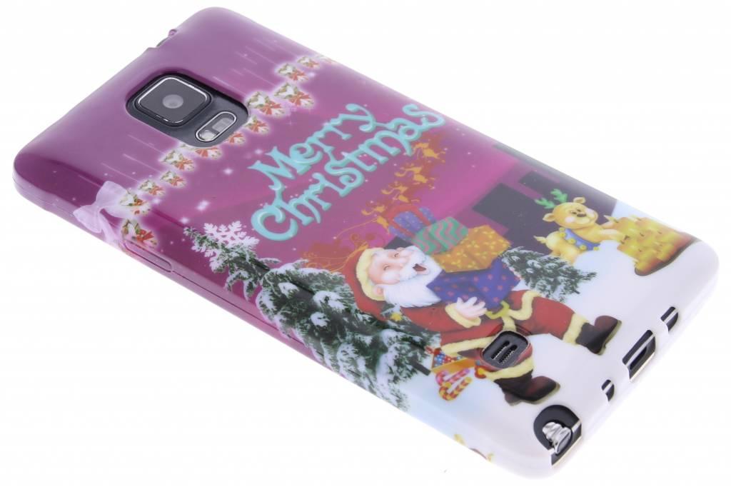 Christmas Edition TPU siliconen hoesje voor de Samsung Galaxy Note 4