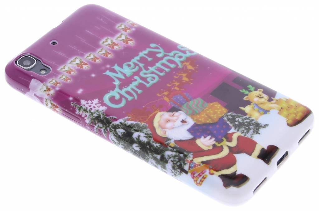 Christmas Edition TPU siliconen hoesje voor de Huawei Y6