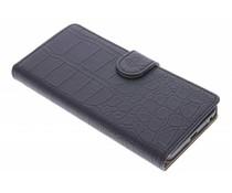 Zwart krokodil booktype hoes LG Nexus 5X