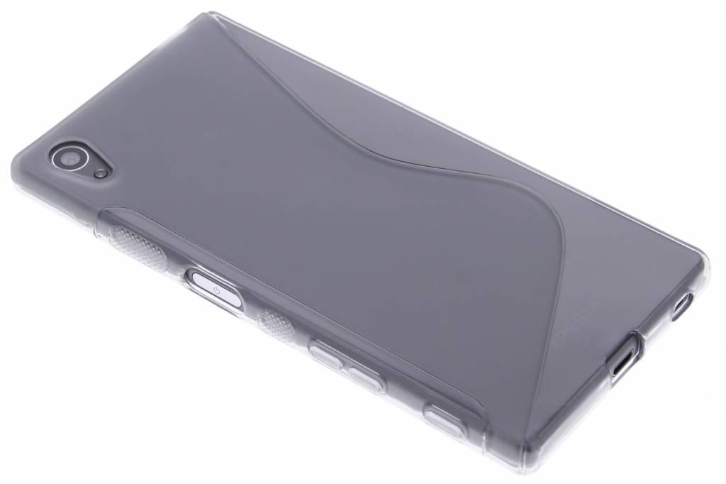 Grijs S-line TPU hoesje voor de Sony Xperia Z5