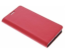 Rood zakelijke booktype hoes Sony Xperia Z5