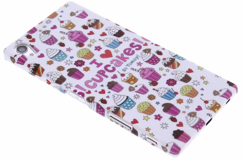 Cupcakes design hardcase hoesje voor de Sony Xperia Z5 Premium
