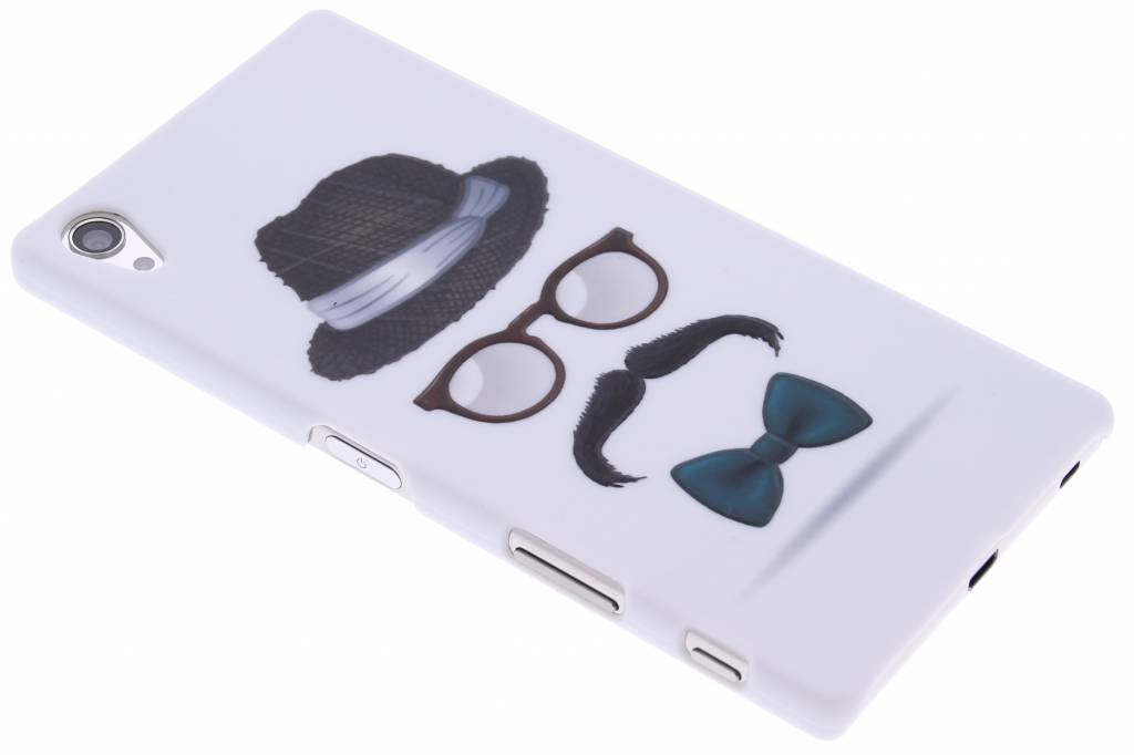 Snor design hardcase hoesje voor de Sony Xperia Z5 Premium