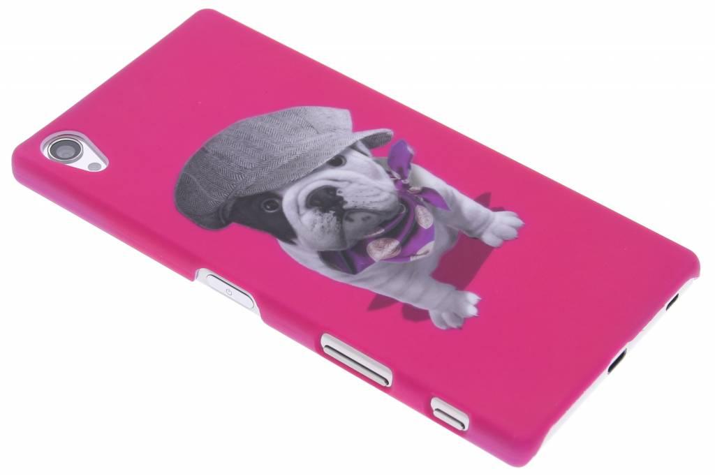 Pug design hardcase hoesje voor de Sony Xperia Z5 Premium