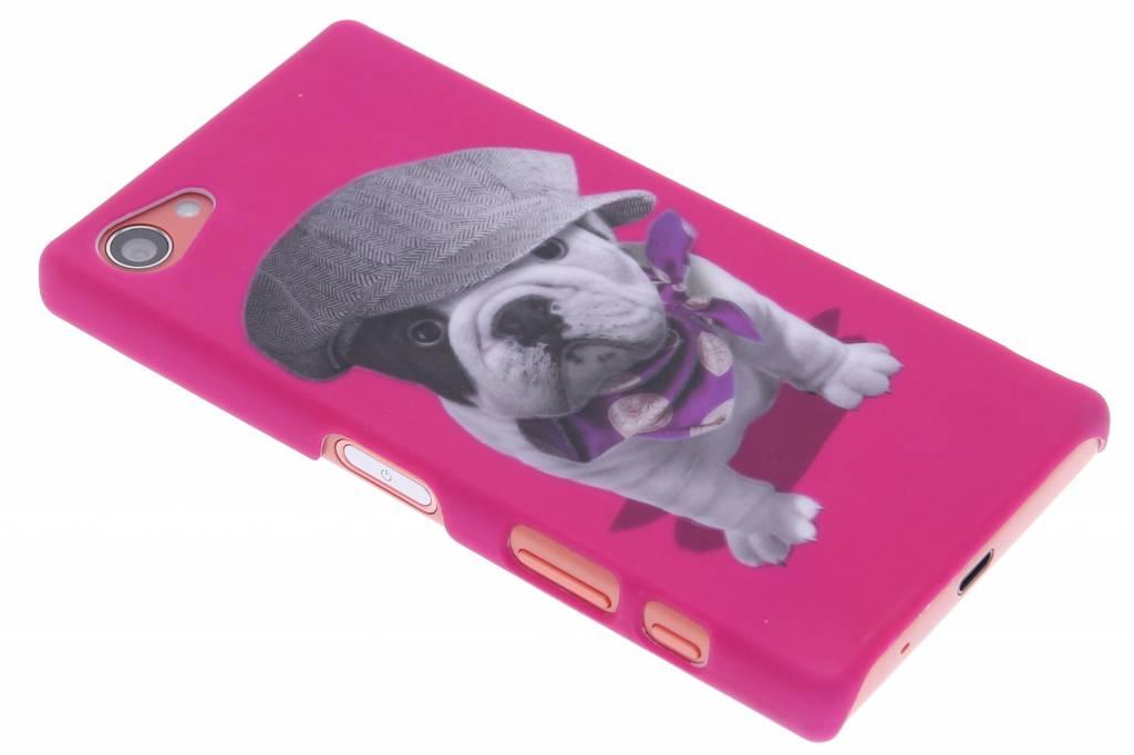Pug design hardcase hoesje voor de Sony Xperia Z5 Compact