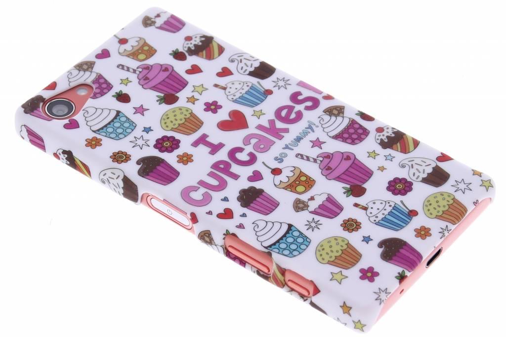Cupcakes design hardcase hoesje voor de Sony Xperia Z5 Compact