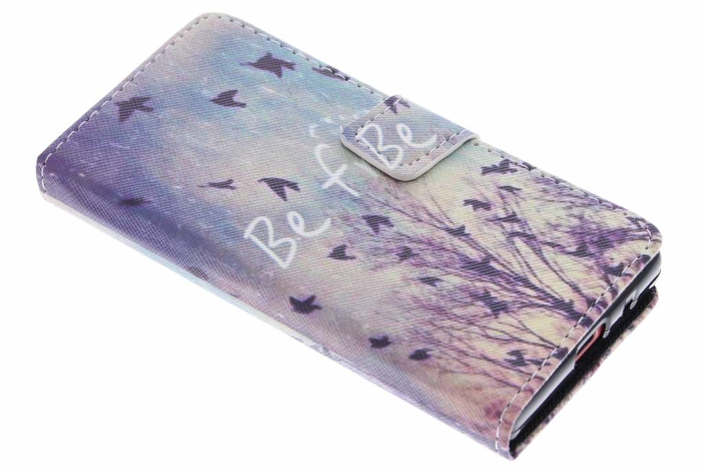 Be free design TPU booktype hoes voor de Sony Xperia Z5 Compact
