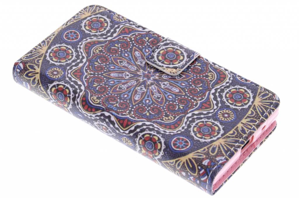 Bloemen design TPU booktype hoes voor de Sony Xperia Z5 Compact