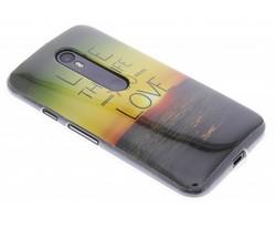 Design TPU siliconen hoesje Motorola Moto G 3rd Gen 2015