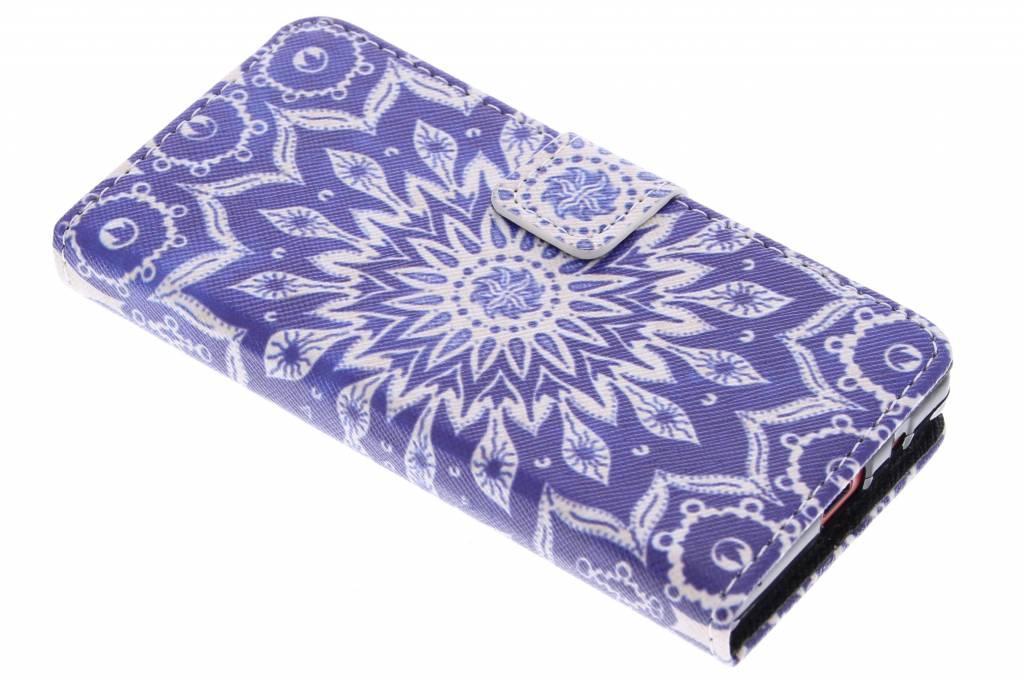 Mandala design TPU booktype hoes voor de Sony Xperia Z5 Compact