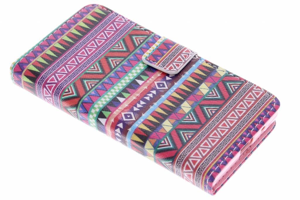 Aztec design TPU booktype hoes voor de Sony Xperia Z5 Compact