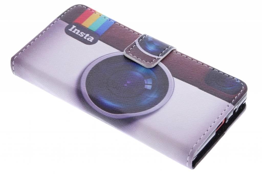 Insta design TPU booktype hoes voor de Sony Xperia Z5 Compact