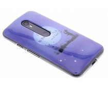 Design TPU siliconen hoesje Motorola Moto G 3rd Gen