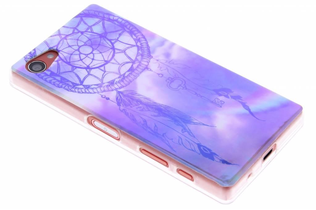 Metallic dromenvanger design TPU siliconen hoesje voor de Sony Xperia Z5 Compact