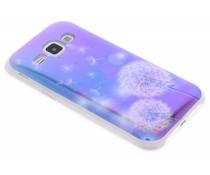 Metallic design TPU hoesje Samsung Galaxy J1