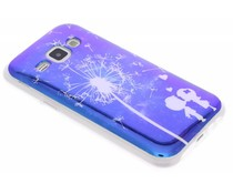 Metallic design TPU hoesje Samsung Galaxy J1
