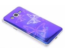 Metallic design TPU hoesje Samsung Galaxy Grand Prime