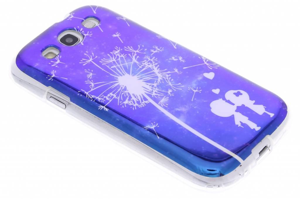 Metallic dandelion design TPU siliconen  hoesje voor de Samsung Galaxy S3 / Neo