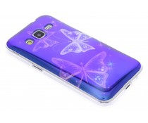 Metallic design TPU hoesje Samsung Galaxy Core Prime