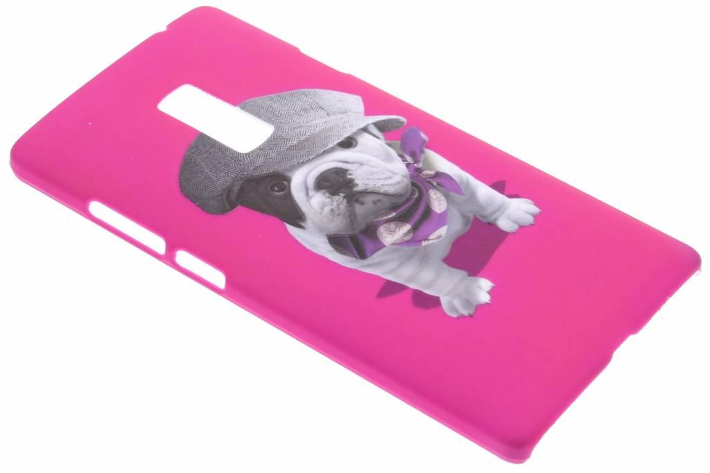 Pug design hardcase hoesje voor de OnePlus 2