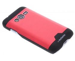 Brushed aluminium hardcase Samsung Galaxy Trend 2 (Lite)