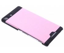Brushed aluminium hardcase Sony Xperia M5