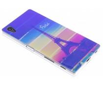 Metallic design TPU siliconen hoesje Sony Xperia Z5