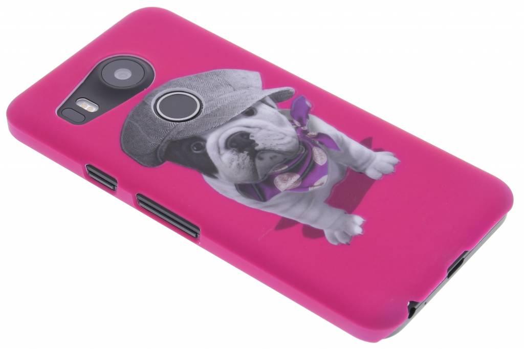 Pug design hardcase hoesje voor de LG Nexus 5X