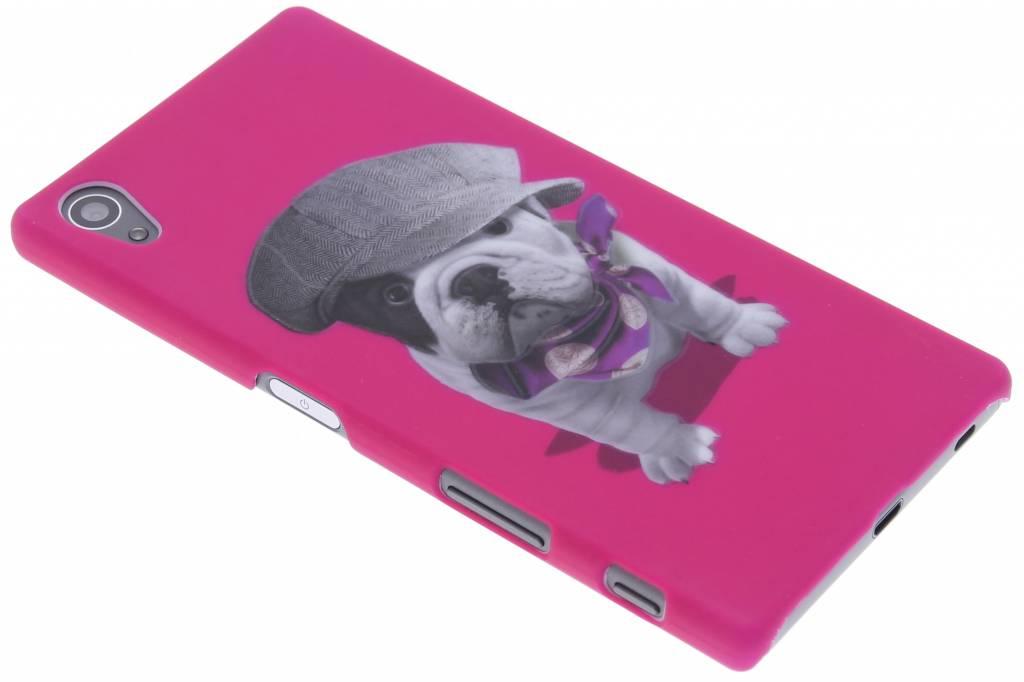 Pug design hardcase hoesje voor de Sony Xperia Z5