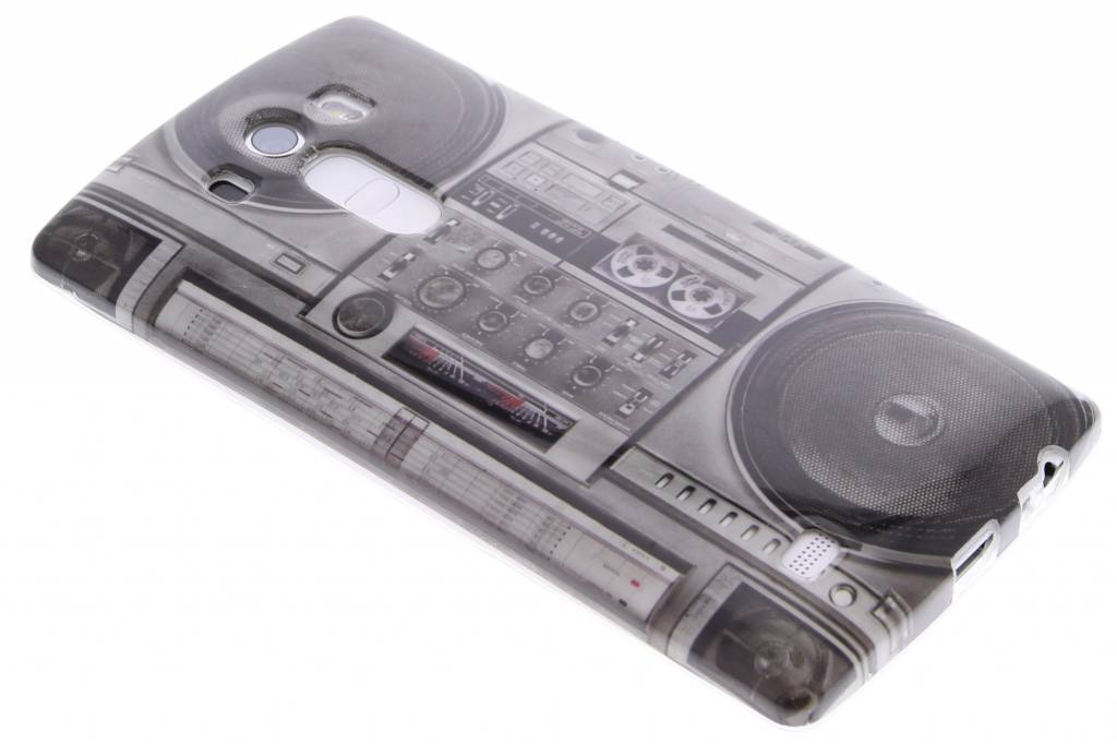 Radio design TPU siliconen hoesje voor de LG G4