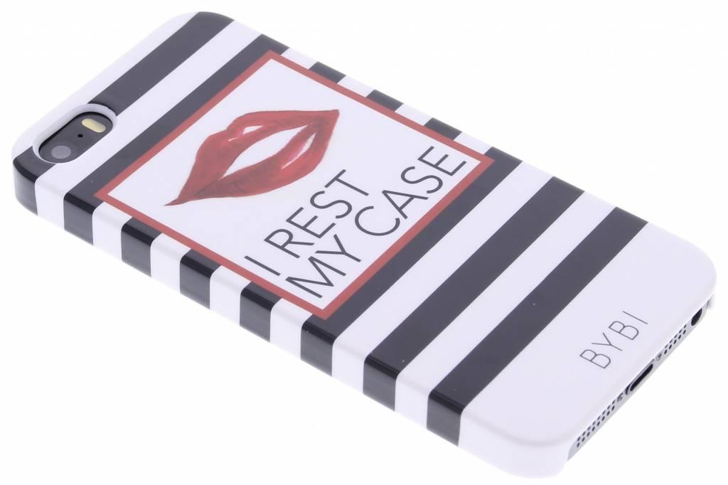 Image of I rest my case hardcase voor de iPhone 5 / 5s / SE