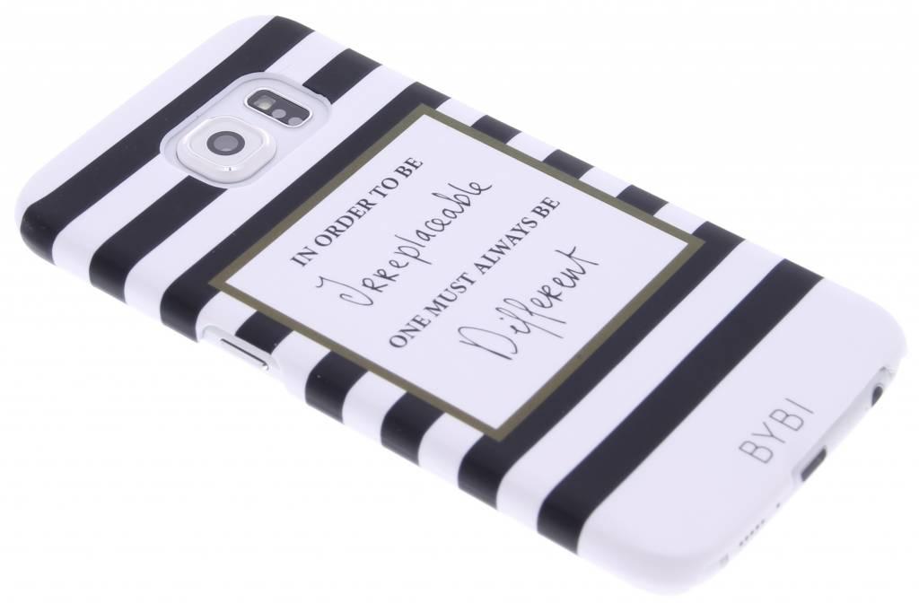 Image of In order to be irreplaceable hardcase voor de Samsung Galaxy S6