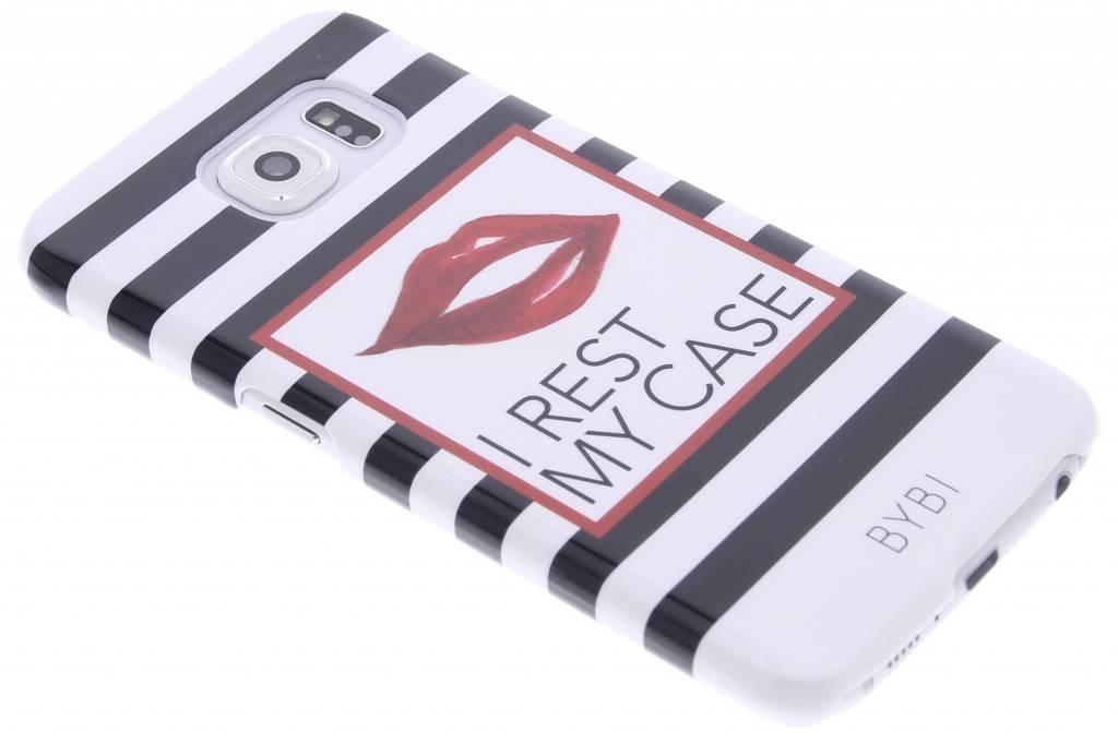 Image of I rest my case hardcase voor de Samsung Galaxy S6