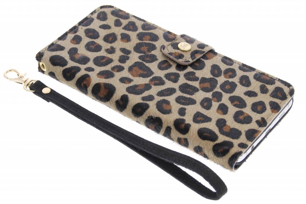 Fab. Funky Panther booktype hoes voor de Samsung Galaxy S6 Edge Plus