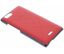 Wiko Slim Case Jetlines Wiko Pulp 4G - Flashy Red