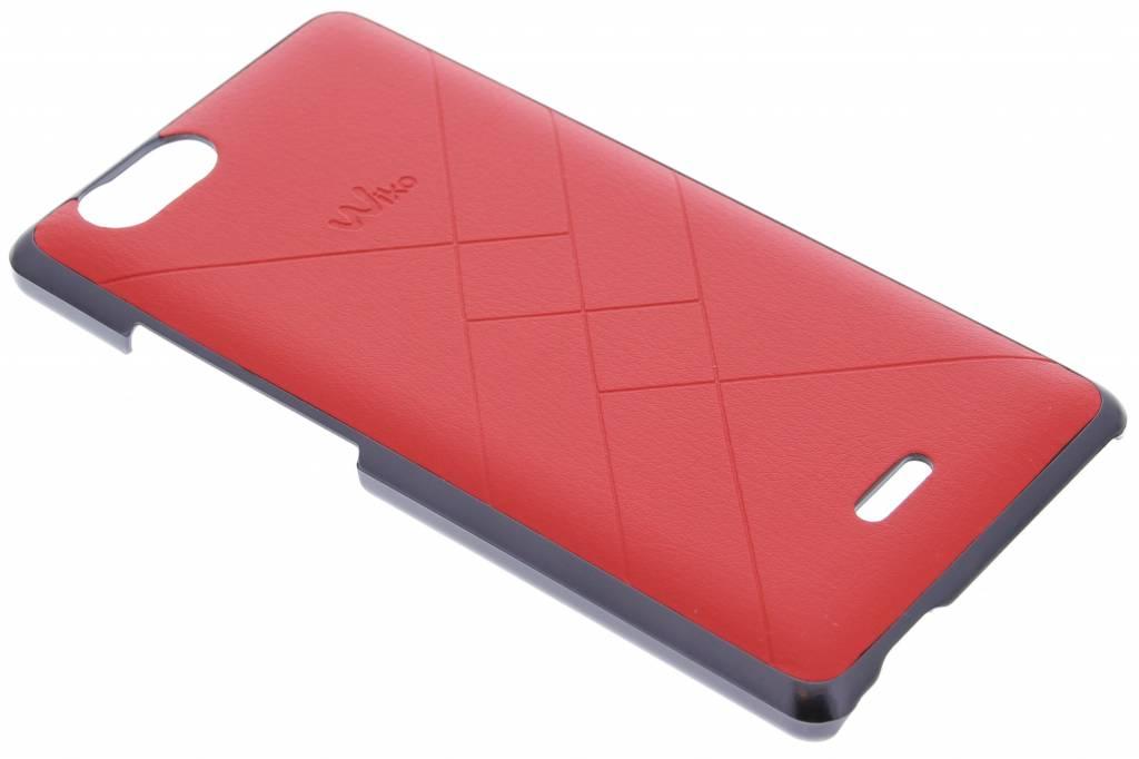 Wiko Slim Case Jetlines voor de Wiko Pulp 4G - Flashy Red