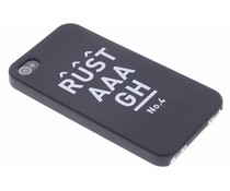 Rustaaagh No 4 hardcase hoesje iPhone 4 / 4s