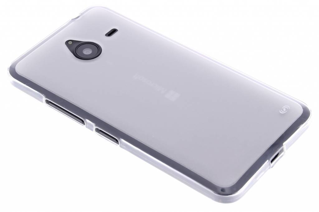 Fonex Pixel TPU Case voor de Microsoft Lumia 640 XL - Transparent