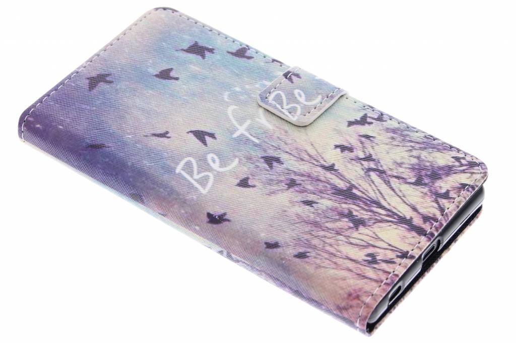 Be free design TPU booktype hoes voor de Sony Xperia Z5