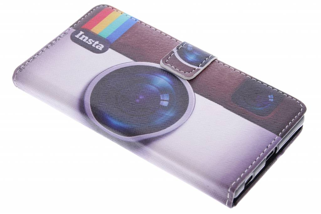 Insta design TPU booktype hoes voor de Sony Xperia Z5